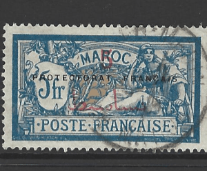 Morocco-French, SG 56