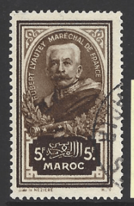 Morocco-French SG 201