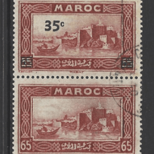 Morocco-French SG 258a *