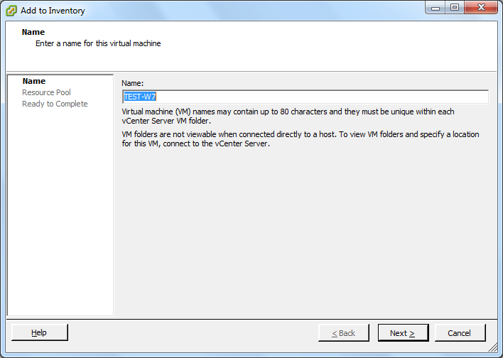how to delete the vm file