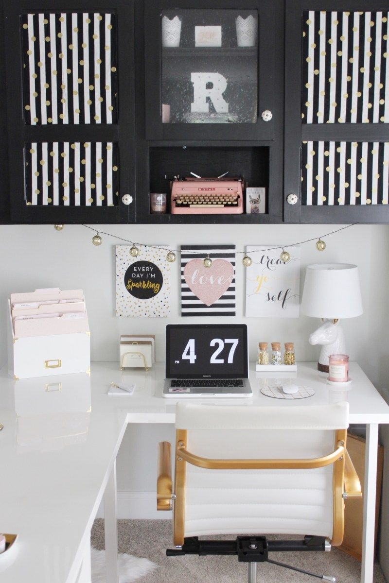 IKEA Desk and Office Tour