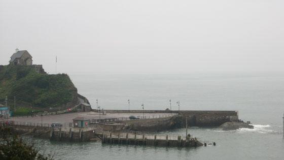 Ilfracombe quay on Monday 15th September 2008