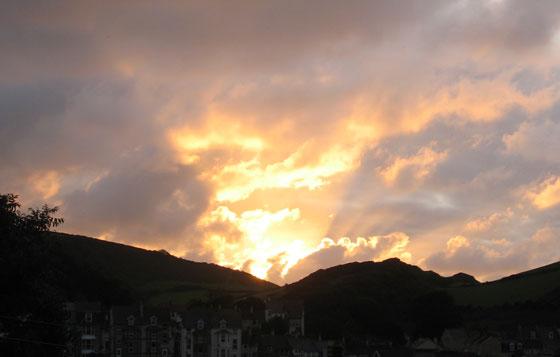 Ilfracombe sunset