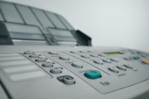 a fax machine
