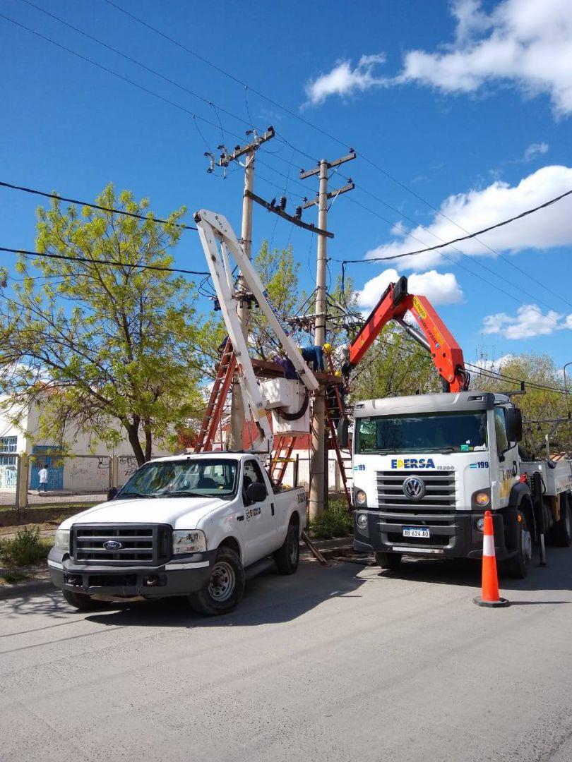Cortes de energía programados para este mediodía en barrio Alta Barda