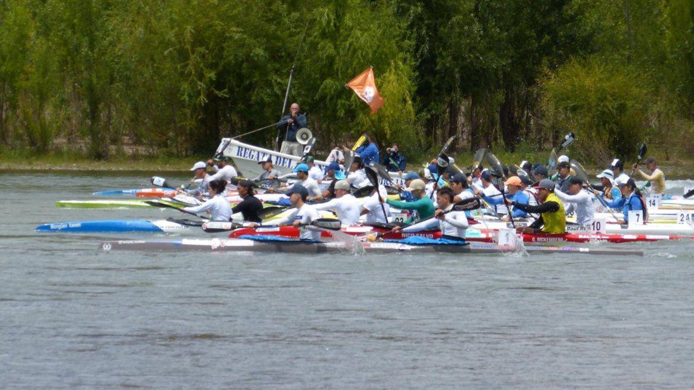 Regata del río Negro: este domingo se corre el tramo General Roca-Huergo