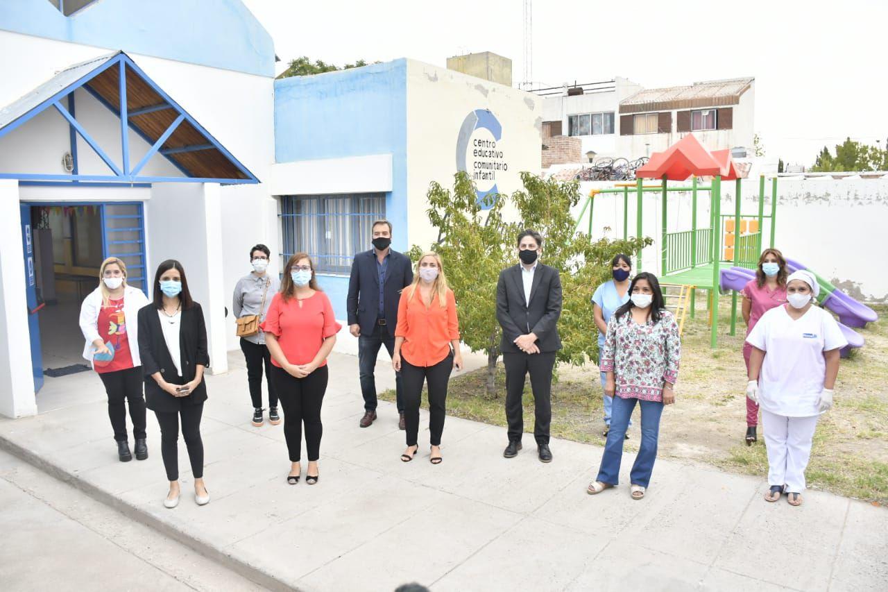 En Roca, el Ministro Trotta anunció la reactivación del Jardín de Quinta 25