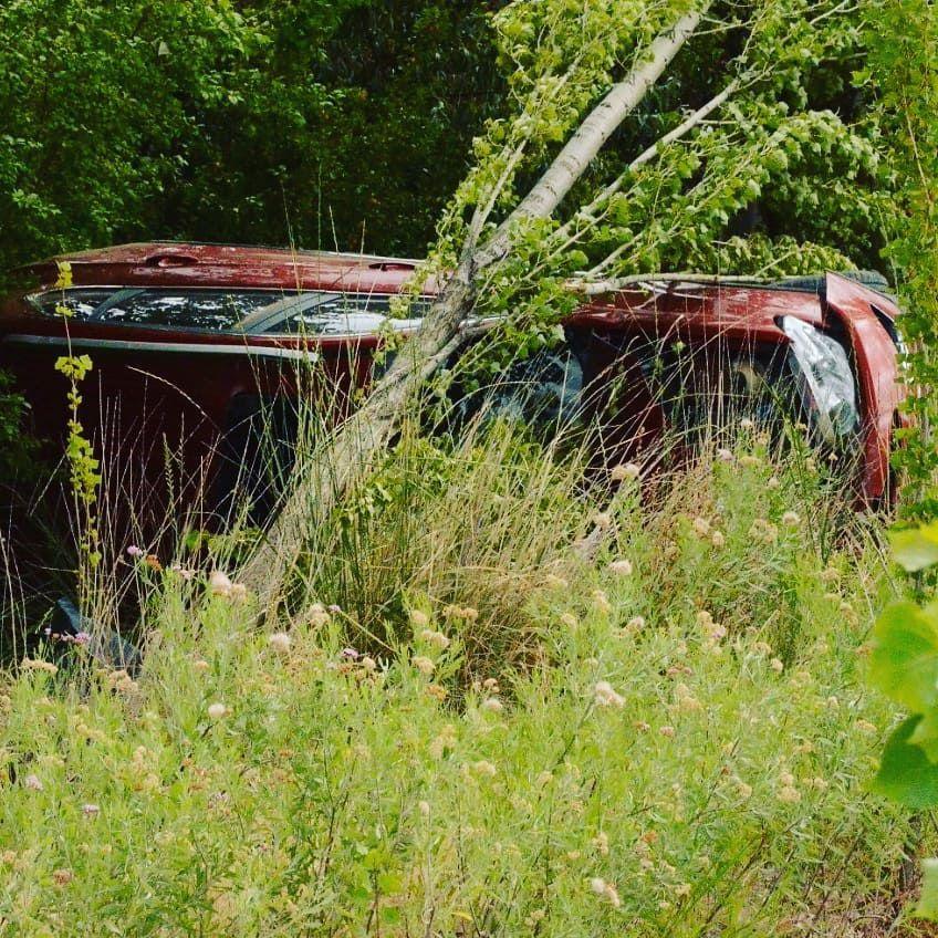 Una roquense sufrió un accidente en la Ruta 22