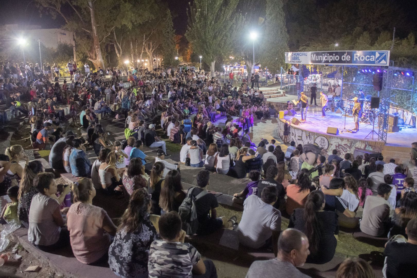 Noche de música en el Anfiteatro con tres bandas imperdibles
