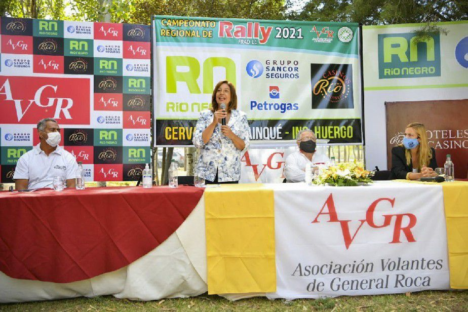 Campeonato Regional de Rally: Arabela y María Emilia encabezaron el lanzamiento