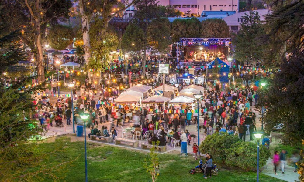 En las dos plazas: Todo listo para la nueva feria gastronómica Nómade