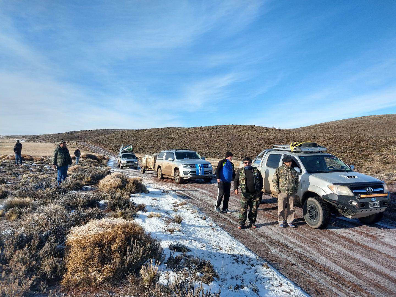 Veteranos de Malvinas de Roca salen en una nueva excursión solidaria a la Línea Sur
