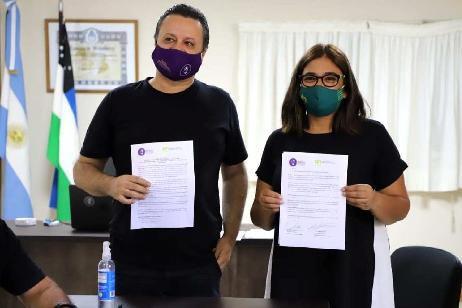 IUPA y la SENAF avanzan para llevar talleres y espectáculos a los espacios preventivos promocionales