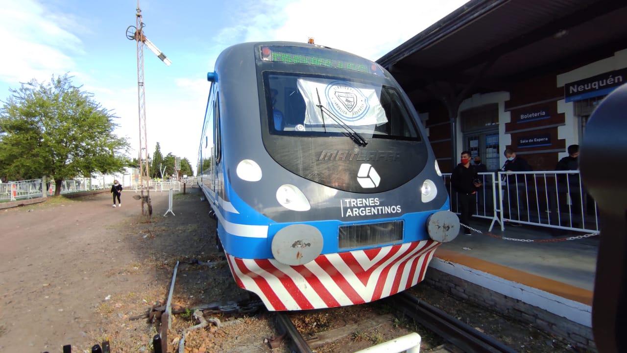 Luego de casi 30 años, el Tren del Valle unió Neuquén-Plottier
