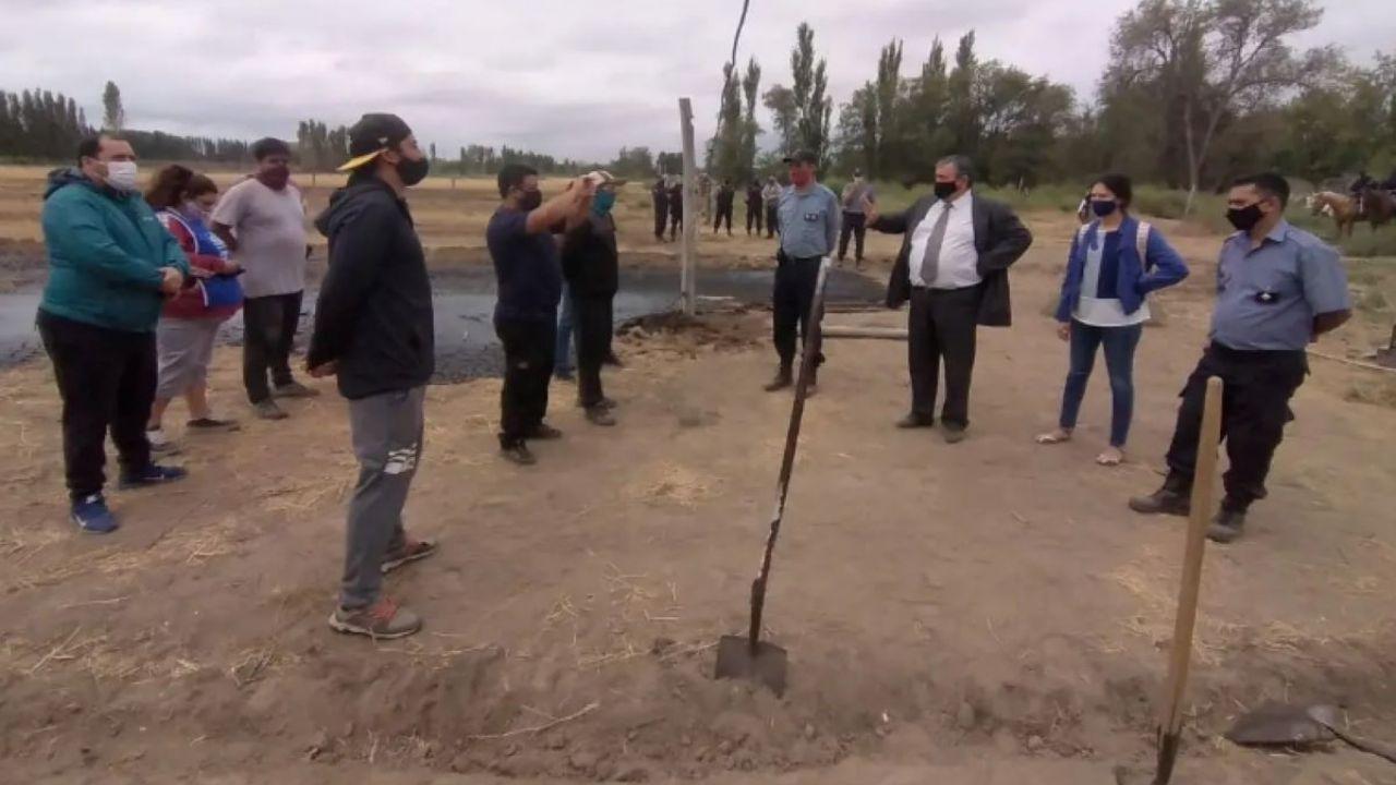 Tensión en la ocupación de tierras de Paso Córdoba