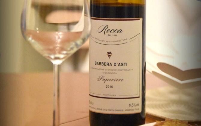 Barbera D'Asti Superiore DOCG Azienda Rocca Gabriele