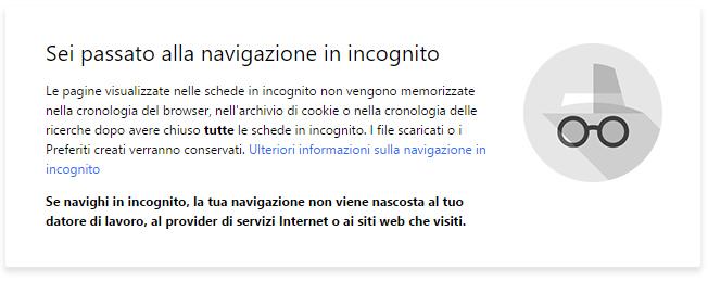 navigazione privata, privacy, navigazione incognito, private browsing,