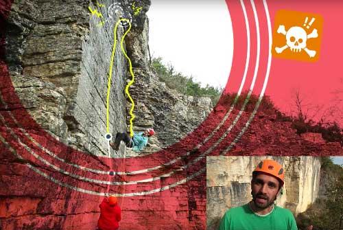Roc et glace escalade technique de la rechappe en escalade sport