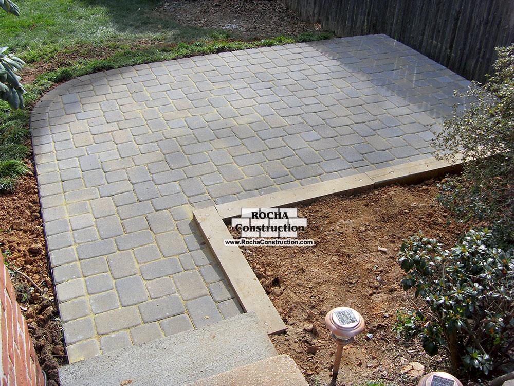 Paver and Brick Patios | Rocha Construction Silver Spring MD on Brick Paver Patio Designs  id=62245