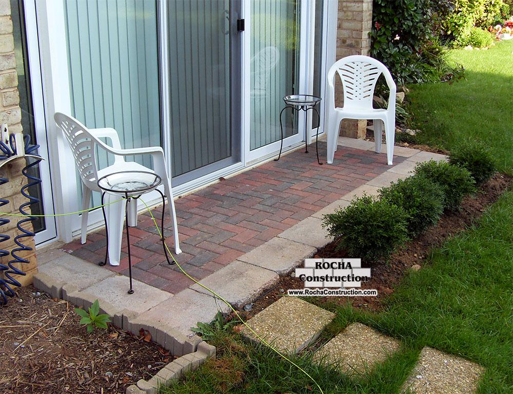 Paver and Brick Patios | Rocha Construction Silver Spring MD on Brick Paver Patio Designs  id=83959