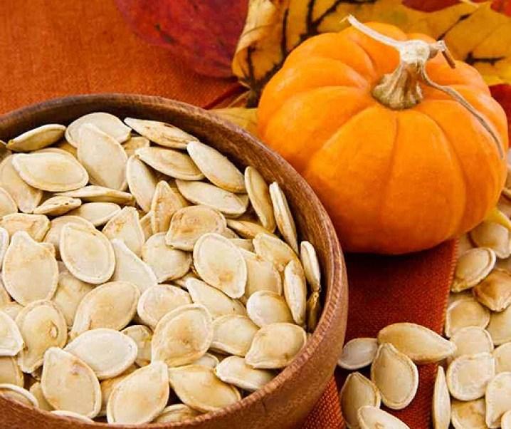 Zapallo o calabaza y sus semillas. Cualidades alimentarias y medicinales. Anticancerígeno