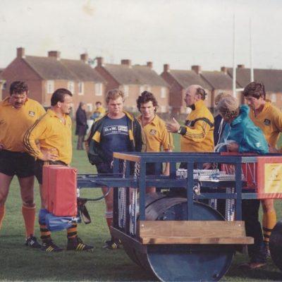 1984 Wallabies in Exeter