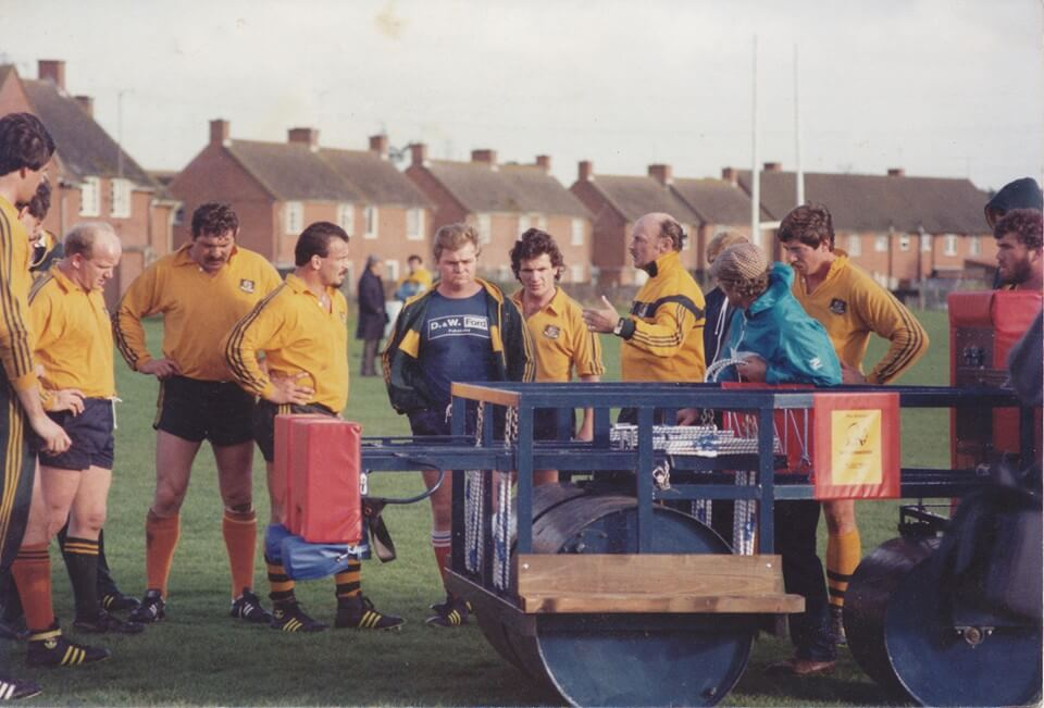 1984 Wallabies in Exeter