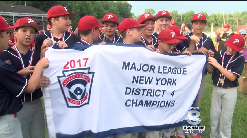 Penfield Little League win away from states