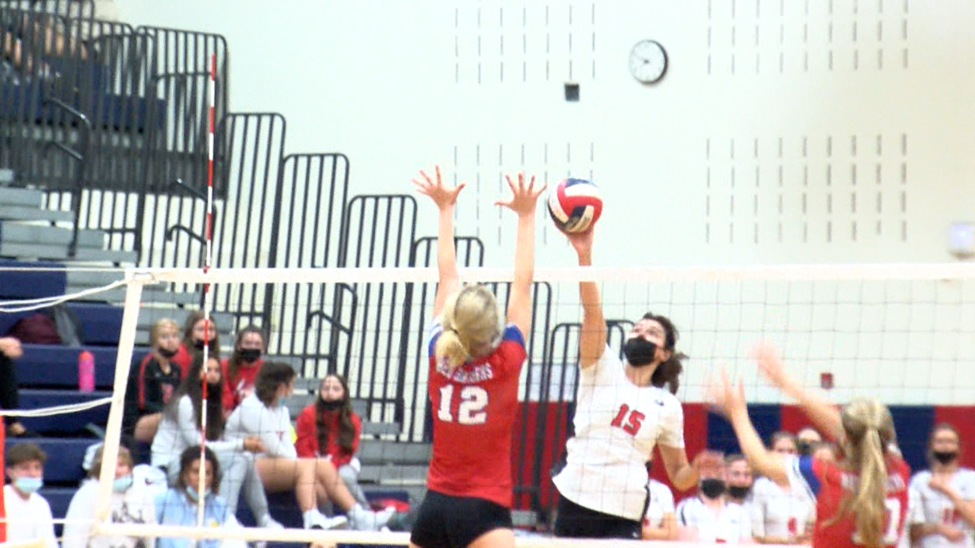Hilton girls volleyball take care of business in straight sets