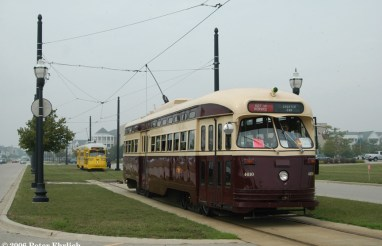 At the turn of the 21st century, Kenosha constructed a modern electric streetcar system utilizing historic PCC streetcars in coordination with the HarborPark development on the shores of Lake Michigan. The line has become a model for urban planning worldwide.