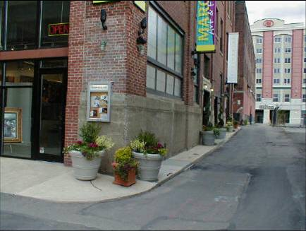 A good example of sustainability, reuse and restoration is the Casey Laundry building near Scranton, PA.