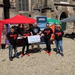 Rock for Tolerance fördert die Red Stars mit 3.000 EUR