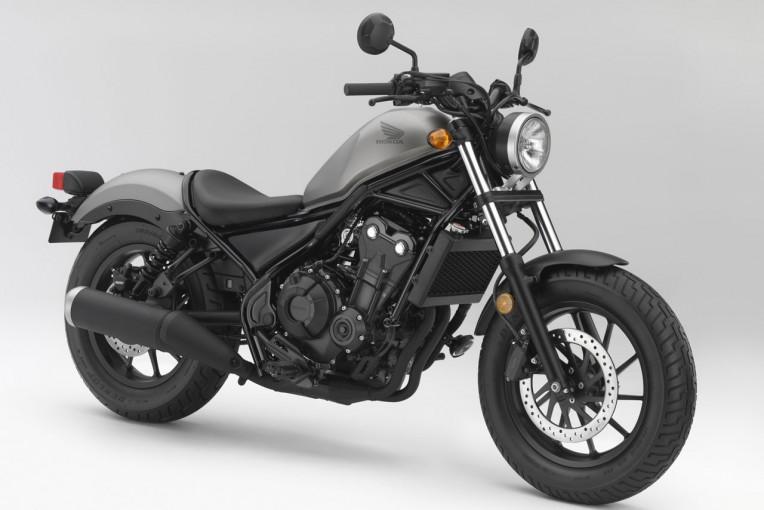HONDA CMX500 REBEL レブル公式発表!