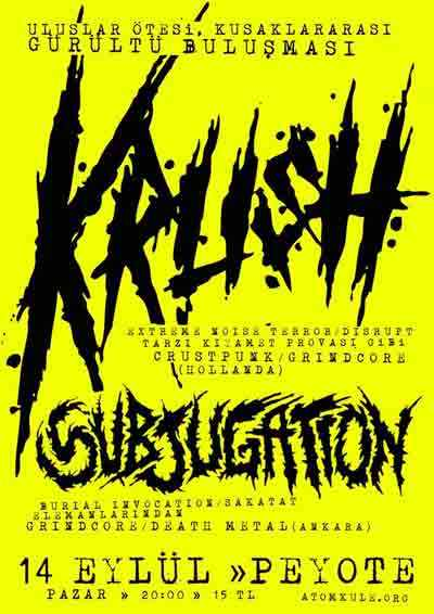 Subjugation Konser 1