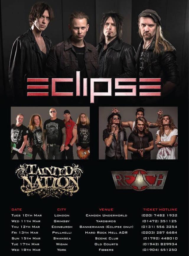 Eclipse tour dates