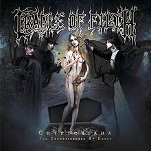 Cradle Of Filth - Cryptoriana - The seductiveness of decay lyrics