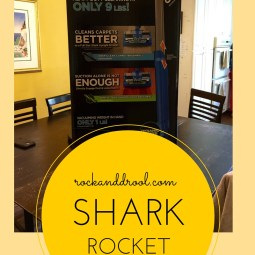 Shark Rocket Review rockanddrool.com