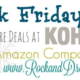 Black Friday Kohls on Amazon rock and drool