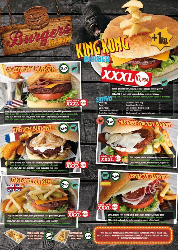 Restaurante Salou RockGrill king kong