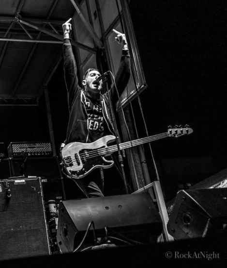 Chris Barker of Anti-Flag