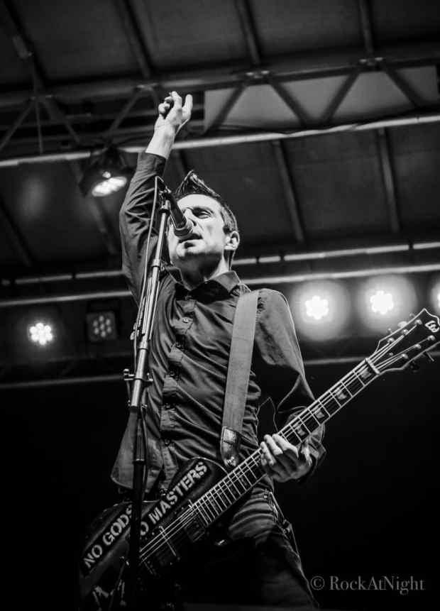 Justin Sane  of Anti-Flag