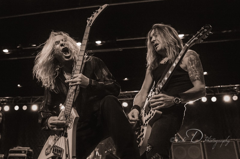 Dana Strum and Jeff Blando of Slaughter IMG_8979-Edit