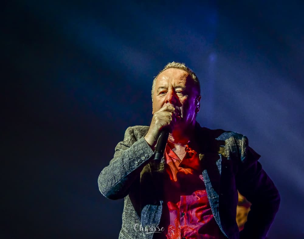 Jim Kerr of Simple Minds