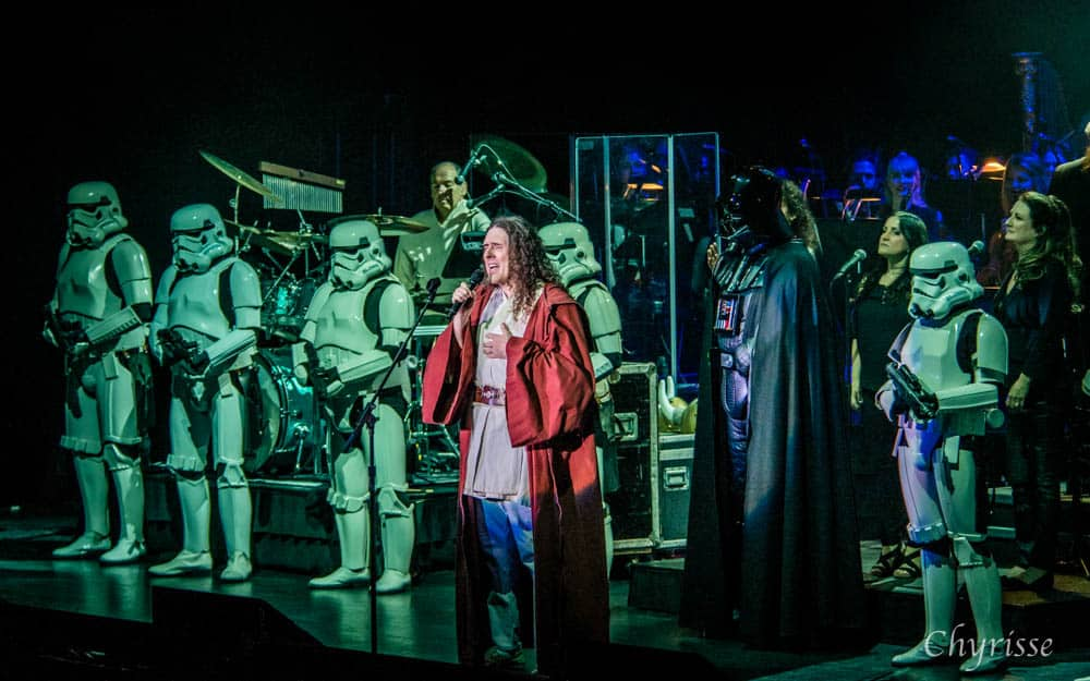 """Weird Al"" Yankovic and the Stormtroopers"
