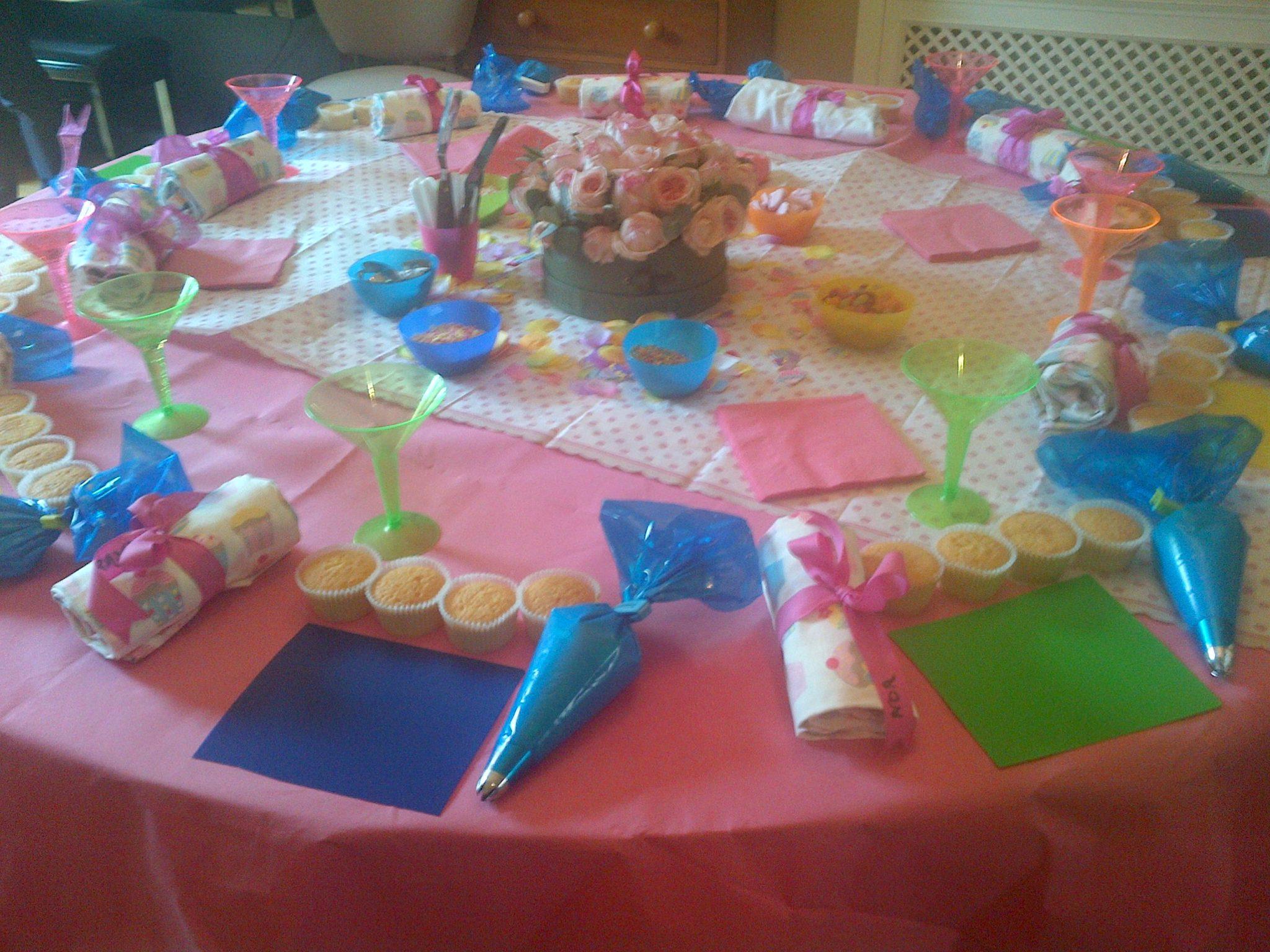 Children S Cupcake Decorating Parties