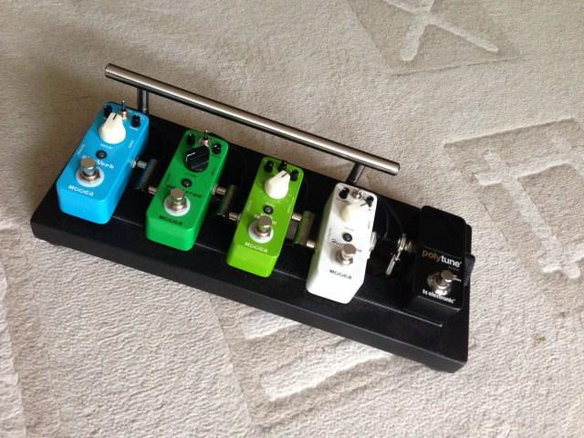 Jamming pedalboard v3