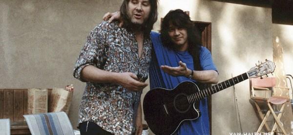 Andy Johns and Eddie Van Halen.