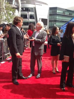 Anthony Hopkins American Idol Red Carpet