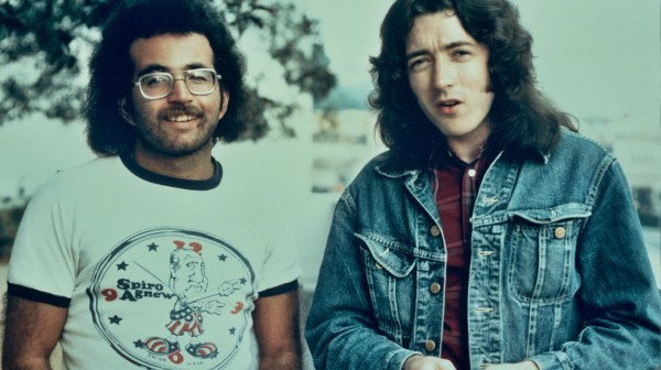 Steve Rosen and Rory Gallagher (Photo: Glen Laferman)