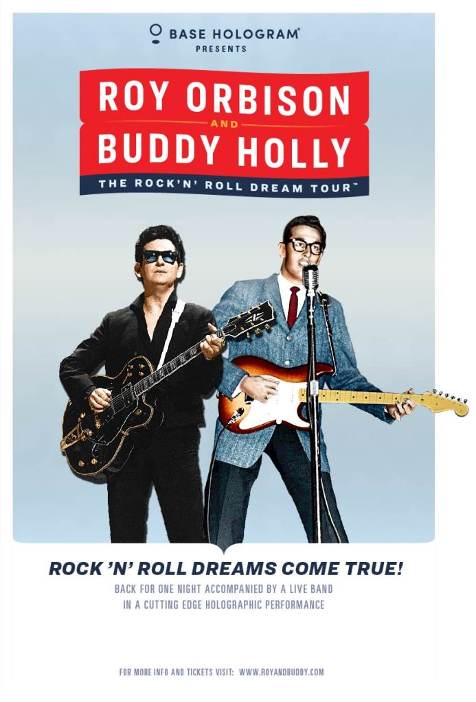 roy orbison buddy holly holograms